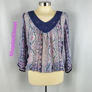 💥Just In💥 Maurices 3/4 sleeve Top Medium